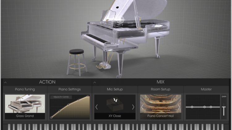 Arturia Glass Piano