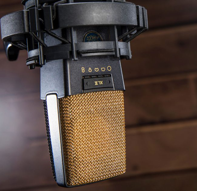 AKG C414 - Image via Sweetwater InSync